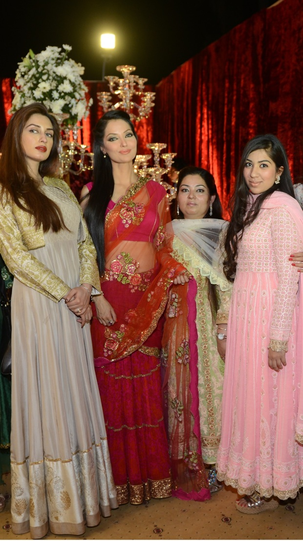 Iman Ali, Natasha Hussain, Mini Bindra and Savleen Bindra