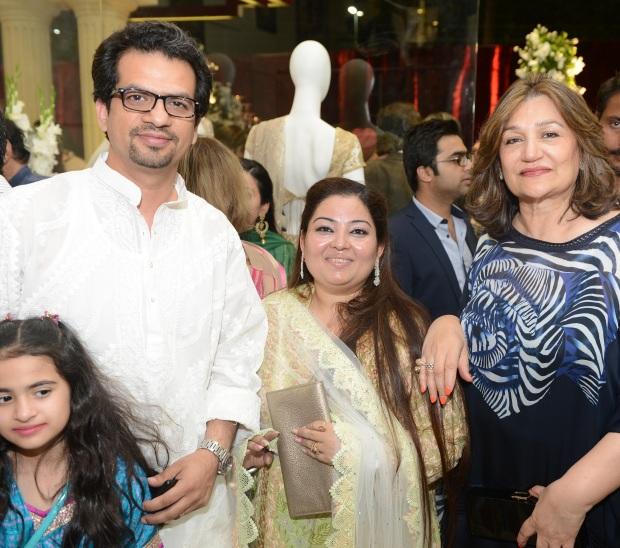 Saad Ali, Mini Bindra and Mrs. Sehyr Saigol