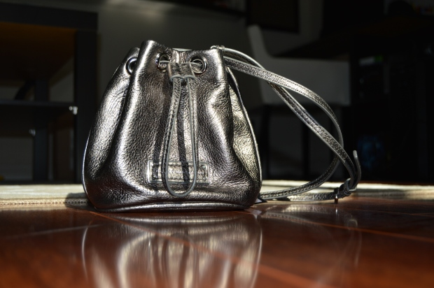 MARC BY MARC JACOBS Crossbody - Too Hot To Handle Metallic Mini Drawstring