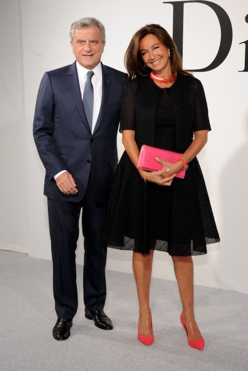 Dior's CEO Sidney Toledano and his wife