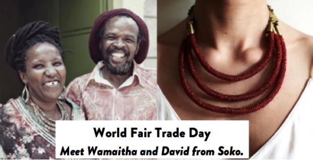 TODAY is World Fair Trade Day - Shop the Fair Trade badge on Modavanti.com