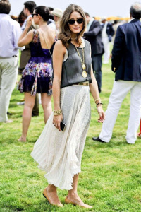 Relaxed and summery at the Polo