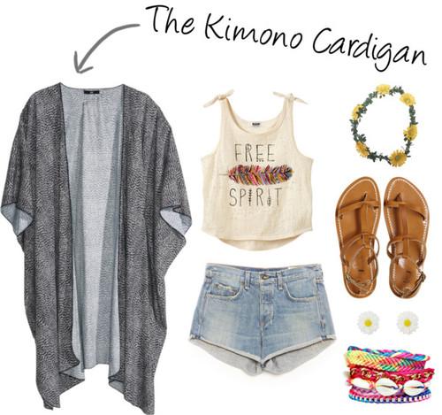 S/S Trend Report: The Kimono Cardigan